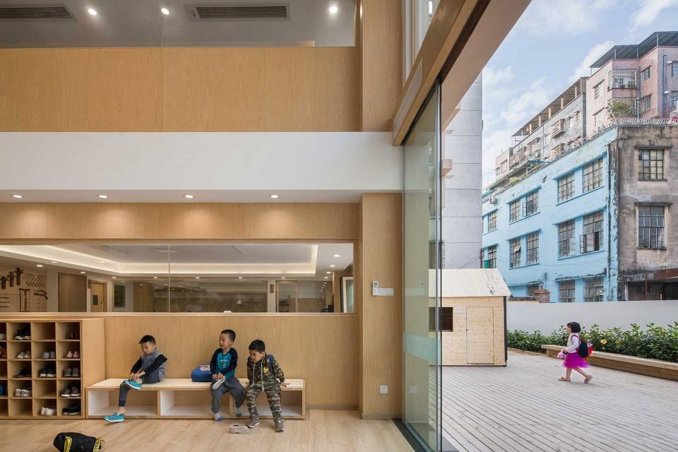 广州狮子国际幼儿园建筑设计/圆道设计