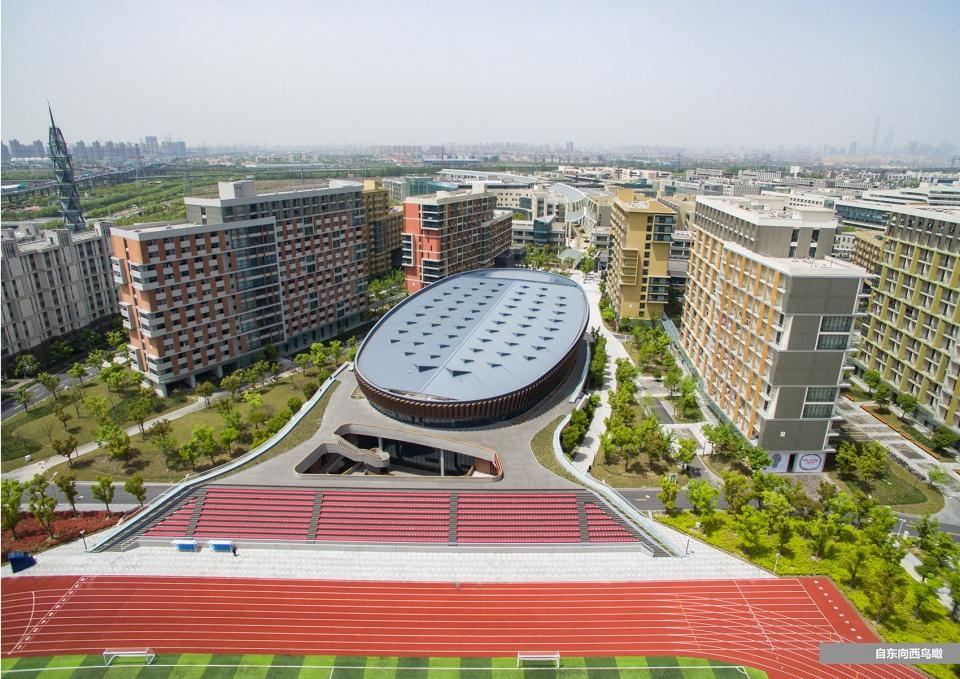 上海科技大学体育馆建筑设计/同济大学设计院