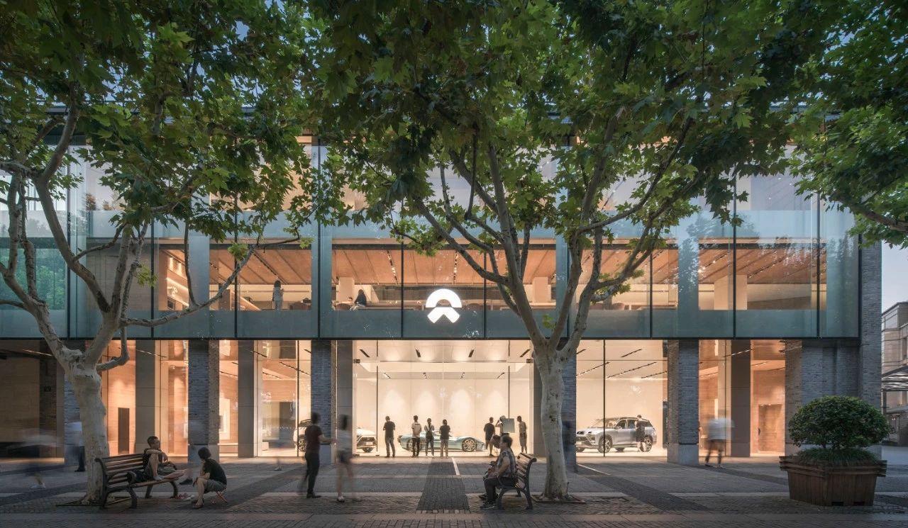 杭州西湖蔚来中心(NIO House)建筑室内设计 / SHL