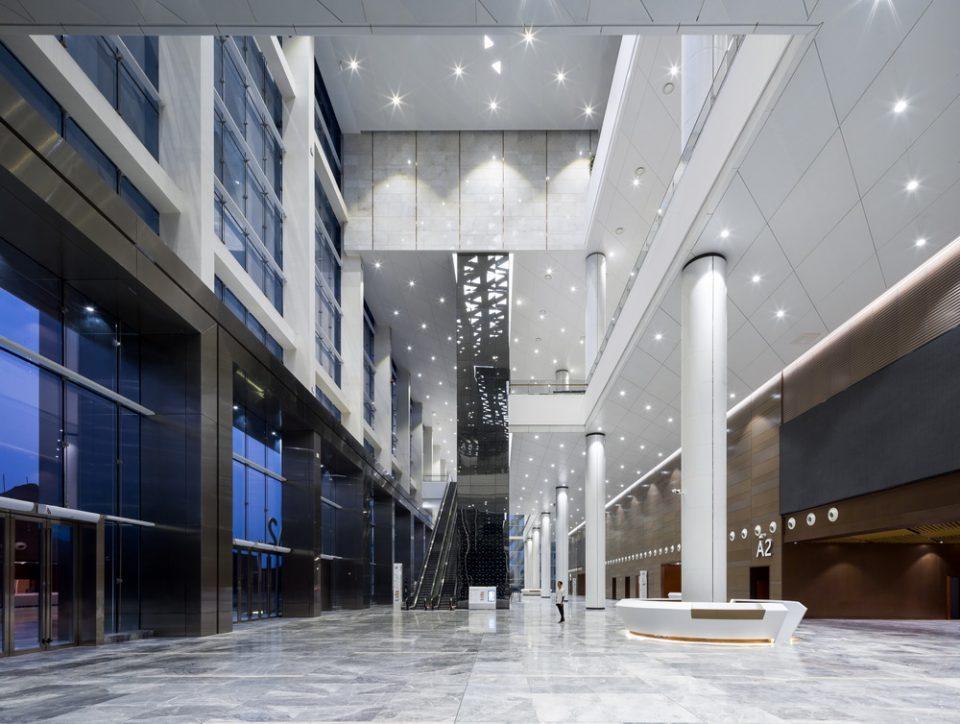 武汉中国光谷科技会展中心建筑设计/维思平建筑设计