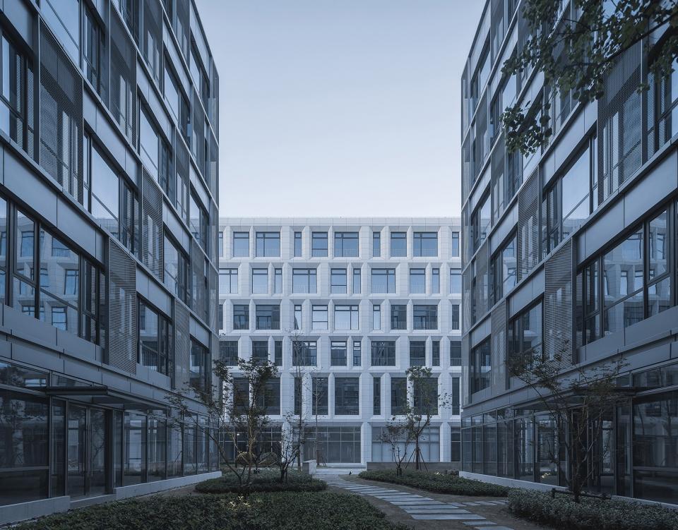 上海自贸壹号生命科技产业园建筑设计/大形设计