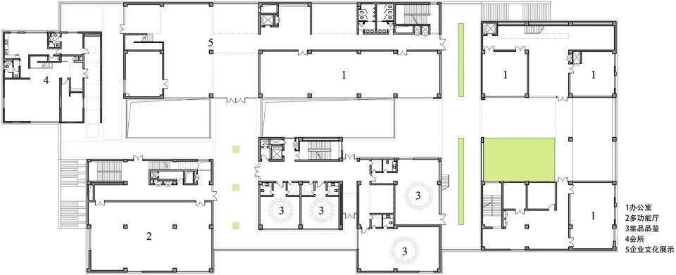 北京东方阳阳企业办公楼建筑设计/BIAD第六建筑设计院