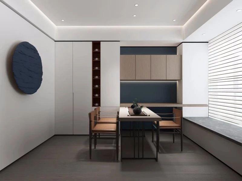 福建龙岩建发玺院样板房室内设计/Between之间设计