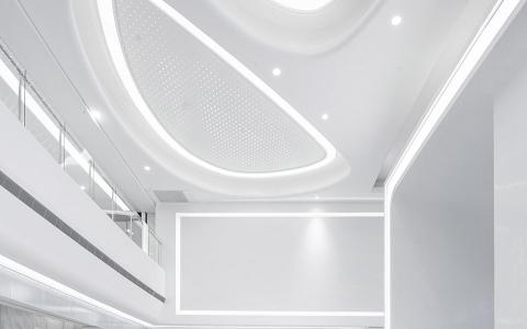 杭州珀莱雅集团总部办公大楼室内letou国际米兰下载/矩典建筑