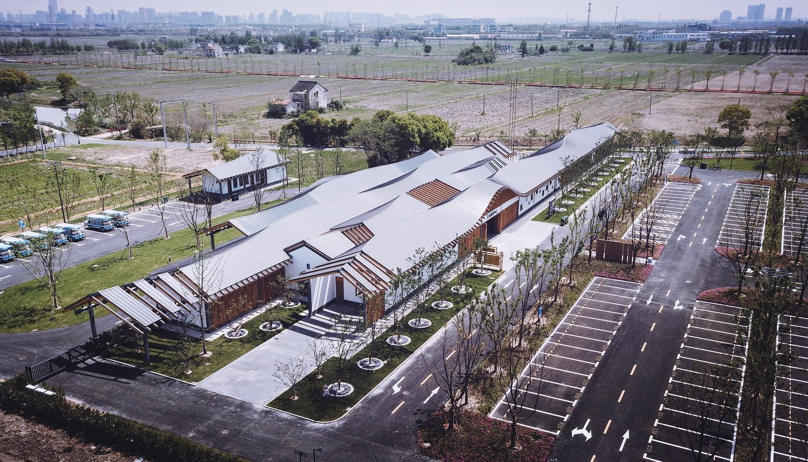 上海嘉定郊野公园游客中心建筑设计/华东建筑设计研究总院