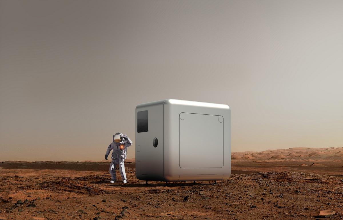 探索未来—火星生活舱/OPEN建筑事务所
