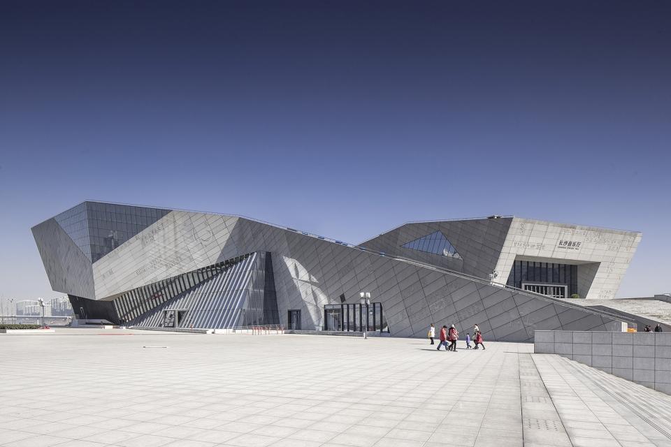 长沙滨江文化园三馆一厅建筑设计/华南理工大学建筑设计研究院