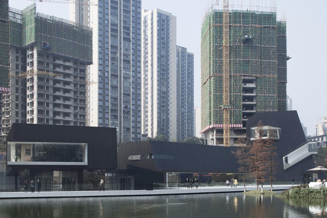 重庆万科天地艺术馆建筑设计/深圳华汇