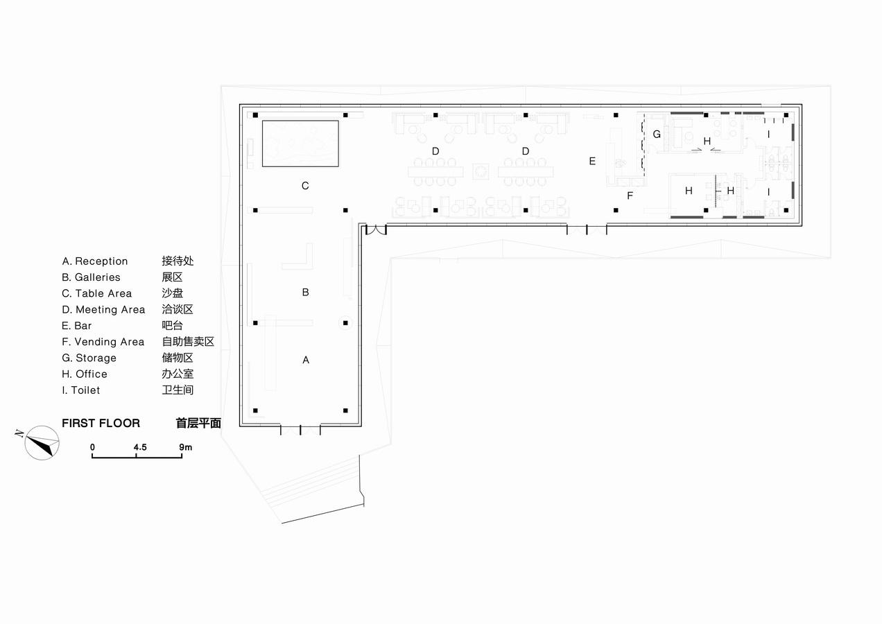 云南万科西双版纳文化展厅建筑设计/XAA詹涛工作室