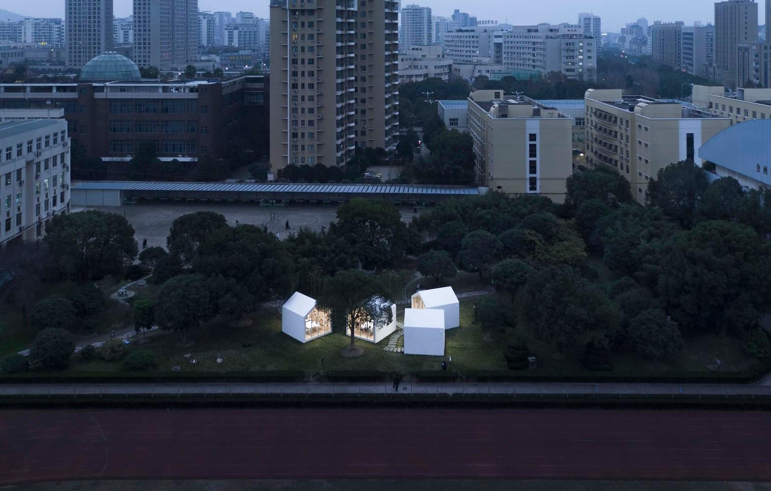 台州校园草地图书馆/行一·彭文苑建筑师事务所
