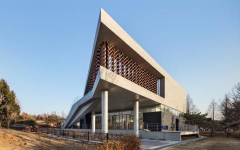 韩国木材博物馆建筑letou国际米兰下载/soft architecture lab