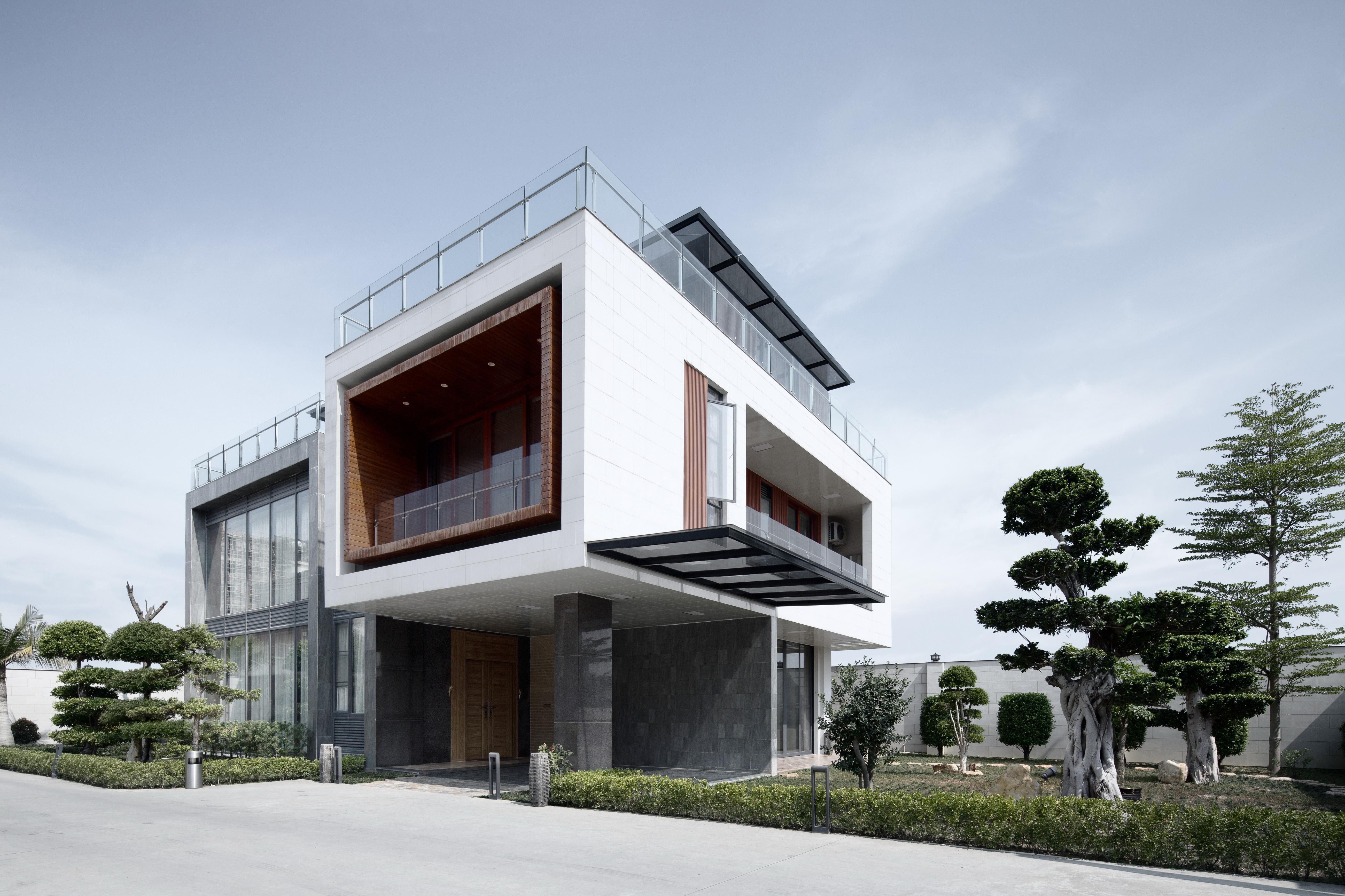广东潮州郭家独立住宅建筑设计/深圳铂睿营造