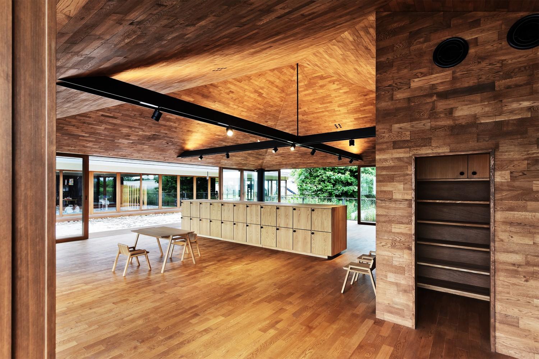 日本YM幼儿园建筑设计/日比野设计