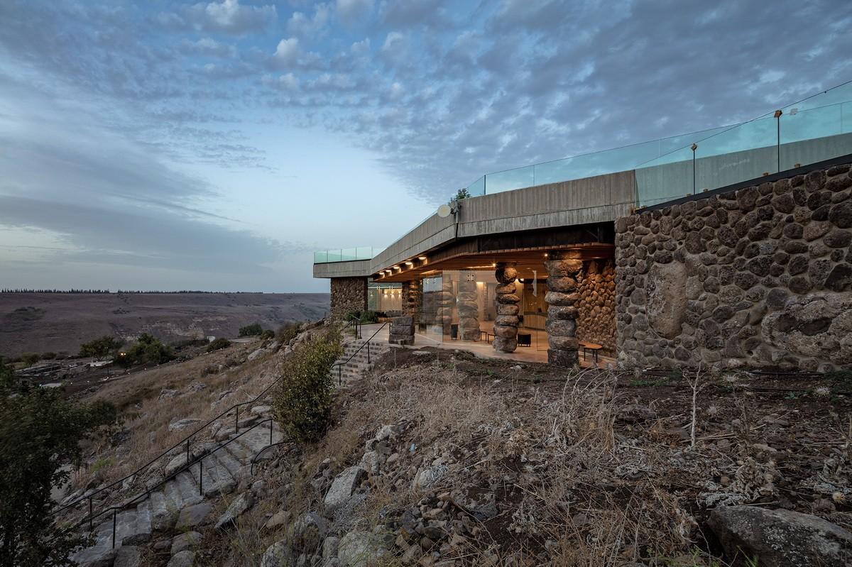 以色列Ein Keshatot游客中心建筑设计/Raz 建筑事务所