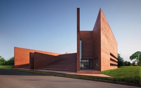 意大利贝加莫科尔诺公共图书馆和礼堂建筑letou国际米兰下载/Archea Associati