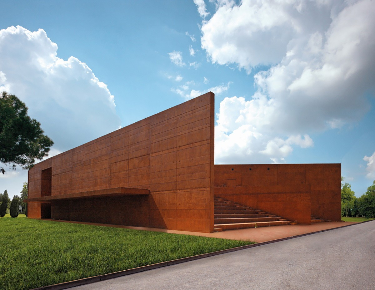 意大利贝加莫科尔诺公共图书馆和礼堂建筑设计/Archea Associati