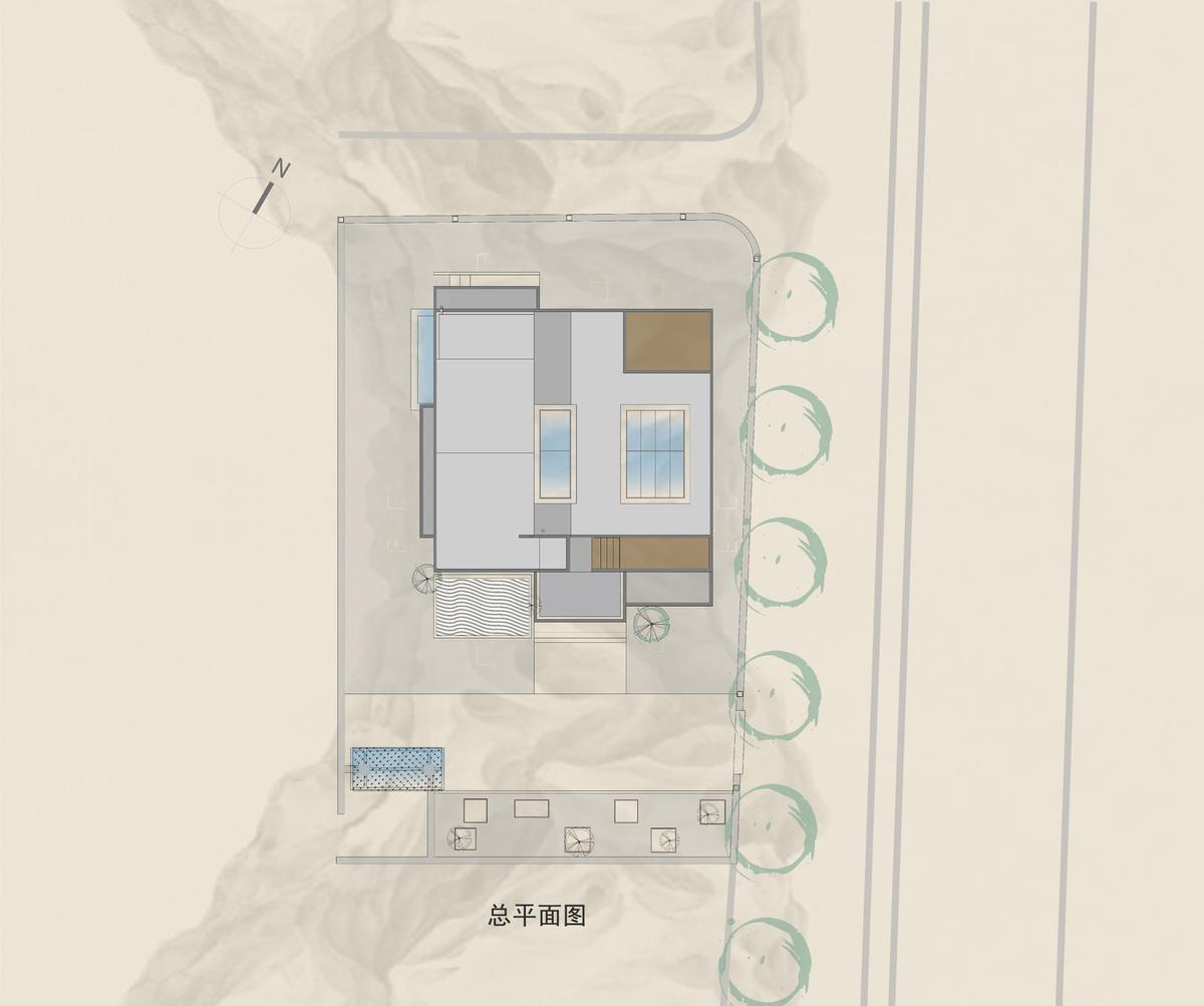 浙江宁波艺术家独立私宅 建筑设计 / 上海继梵建筑设计事务所