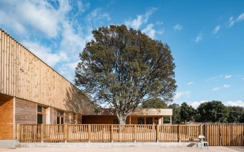法国乡村学校建筑letou国际米兰下载/Amelia Tavella Architectes