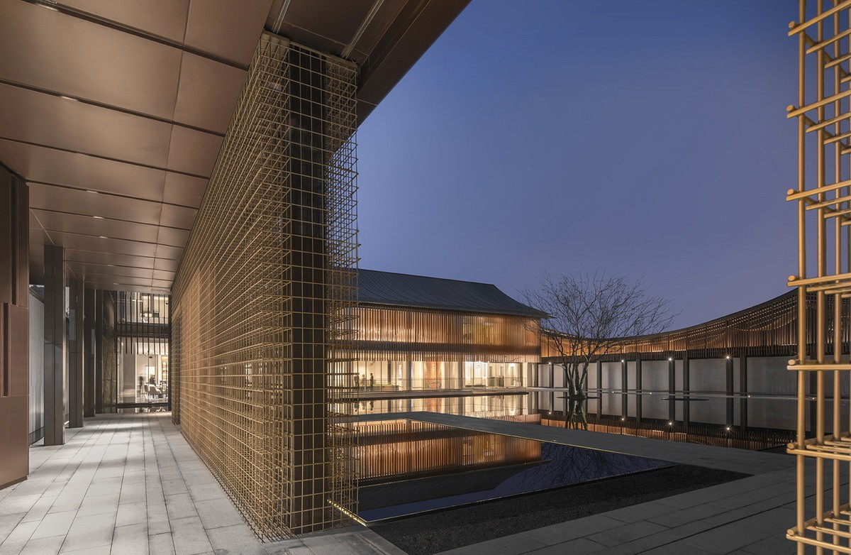 上海远洋江南院子营销中心建筑设计/柏涛设计