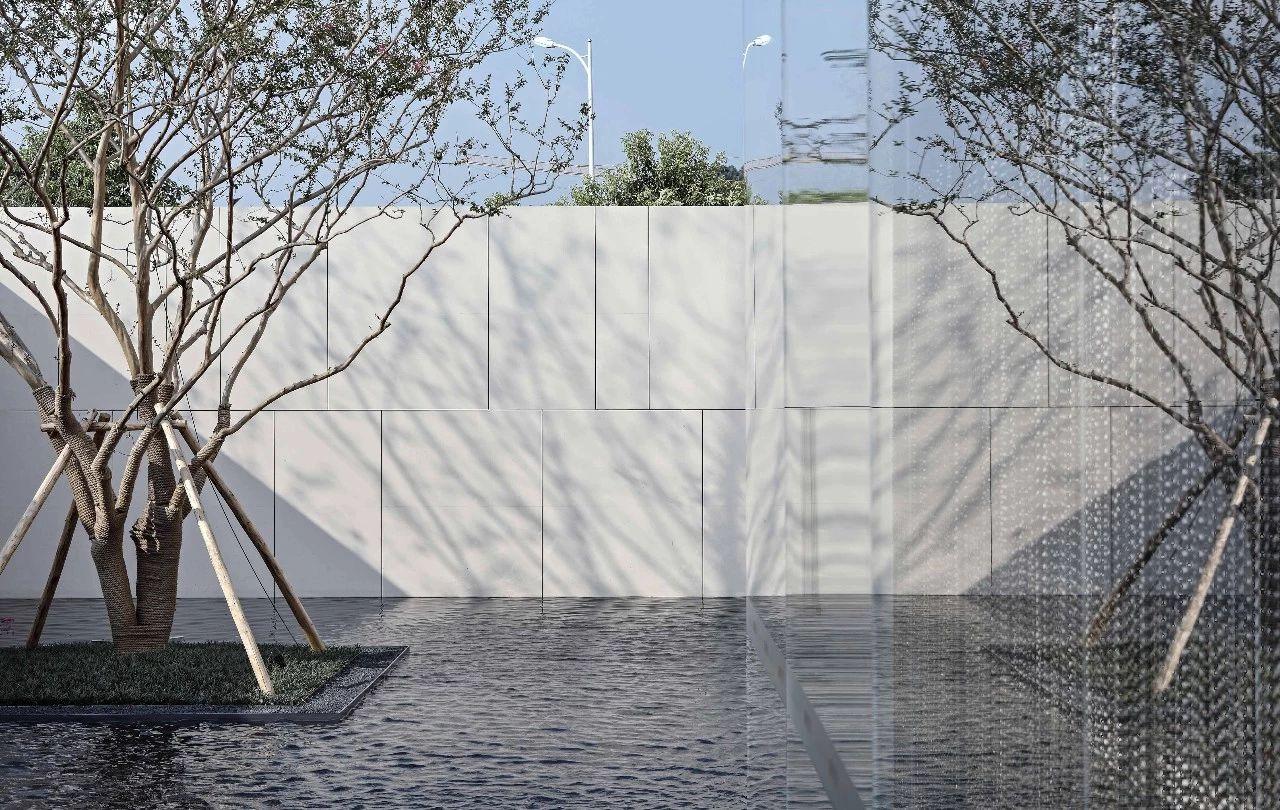 长沙融创城城市美术馆景观设计/道合景观