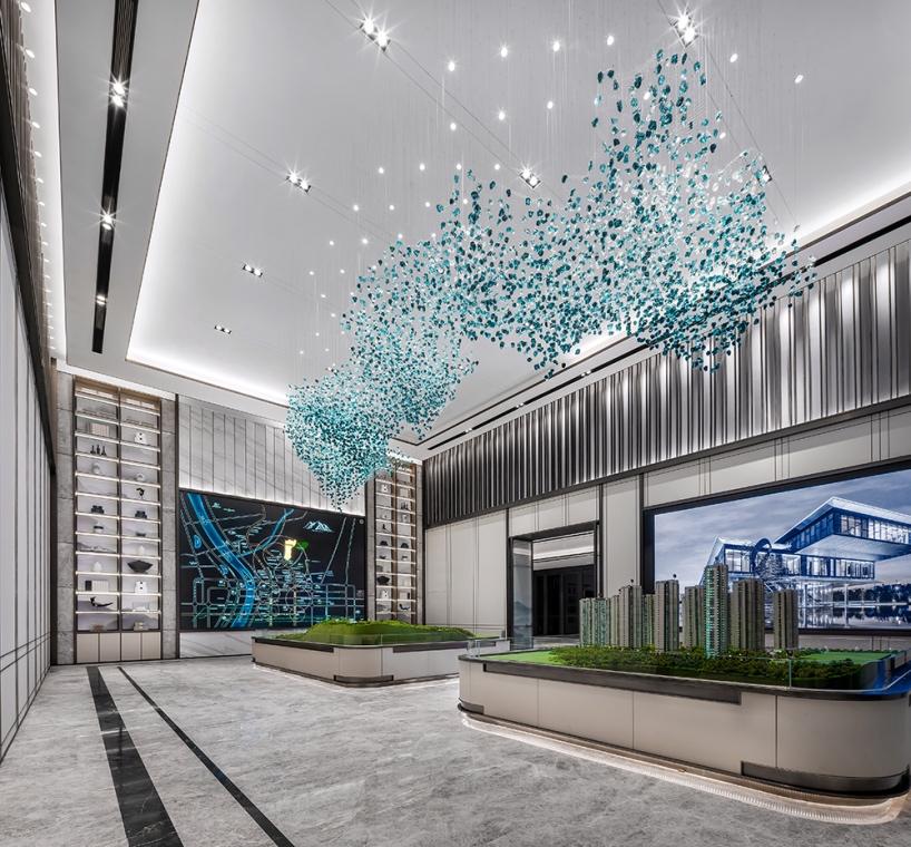 长沙融创城销售中心室内设计/六艺源设计