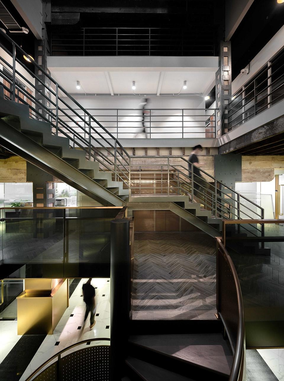 上海琥珀大楼大堂及公共区改造设计/上海境物