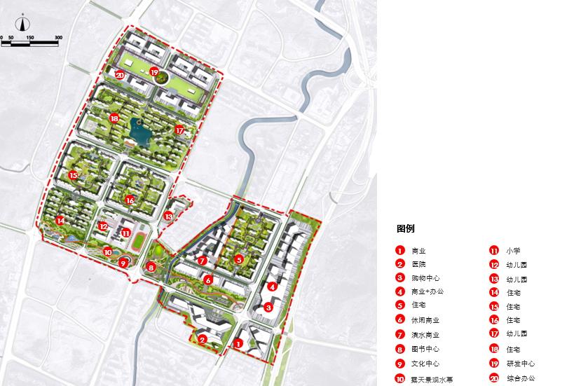 遵义南部新城忠庄片区规划设计/贵阳建筑勘察设计有限公司纵横分院