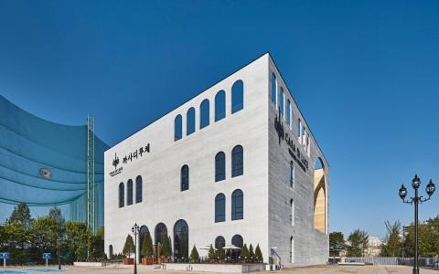 韩国光州CASA DI LUCE婚礼盒子建筑letou国际米兰下载/Chiasmus Partners