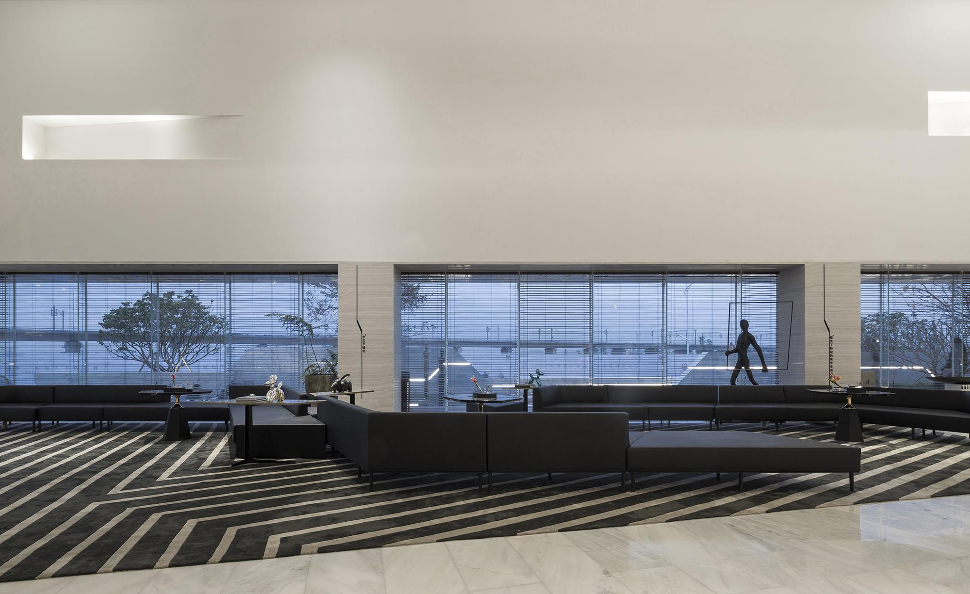 阳江保利中央公馆售楼处室内设计/ENJOY DESIGN