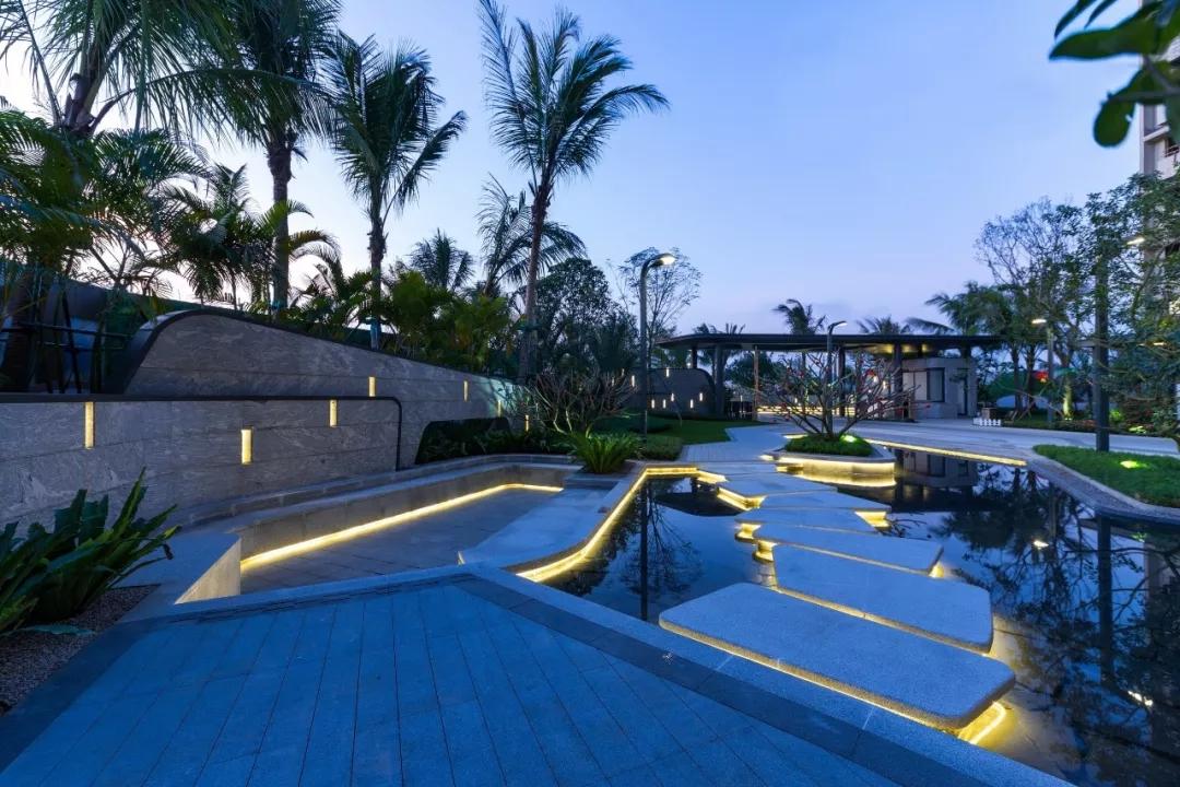 海口融创观澜湖公园壹号景观设计/GVL怡境国际