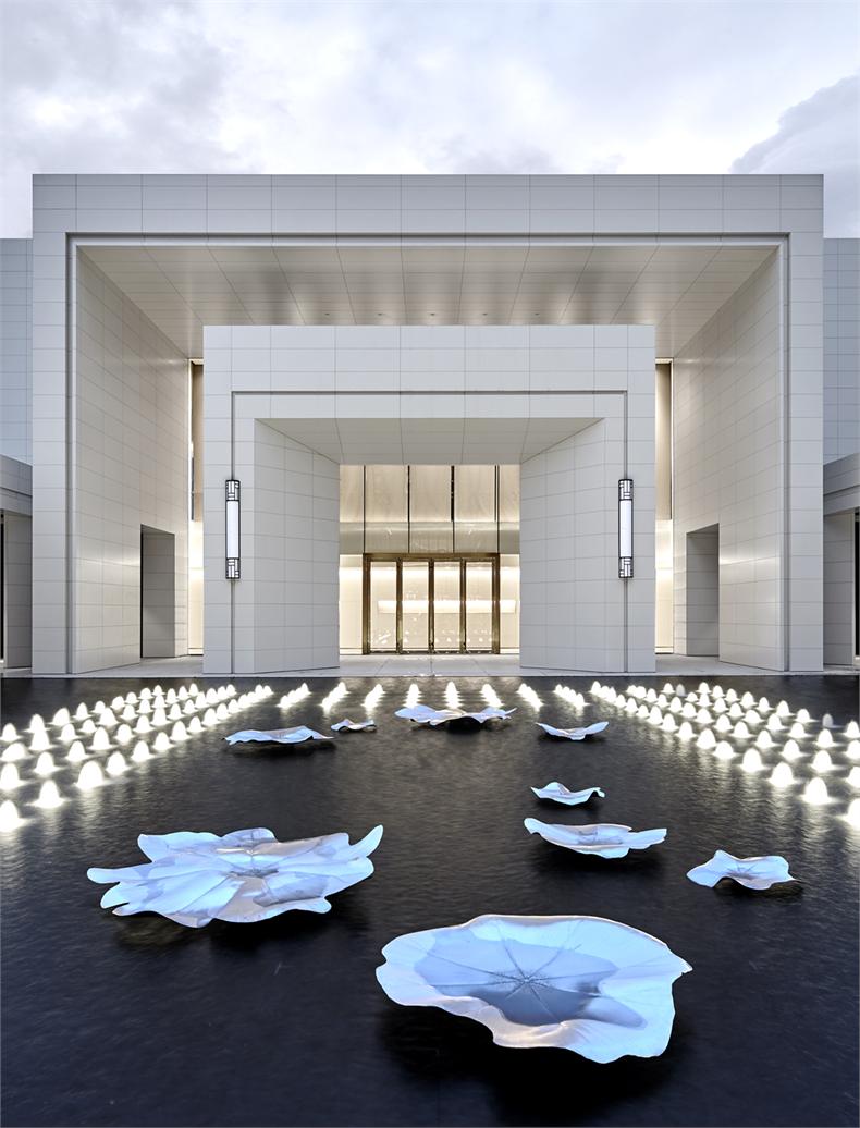温州华润滨江万象天地售楼处室内设计/矩阵室内