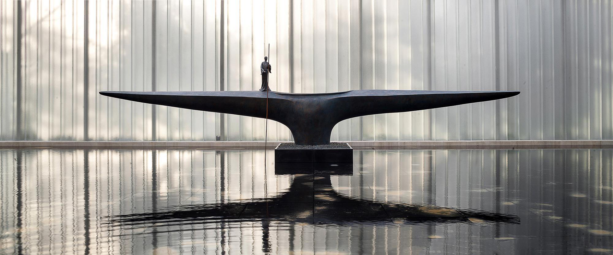 江苏张家港中南湖悦天境售楼处室内设计/大观自成室内设计