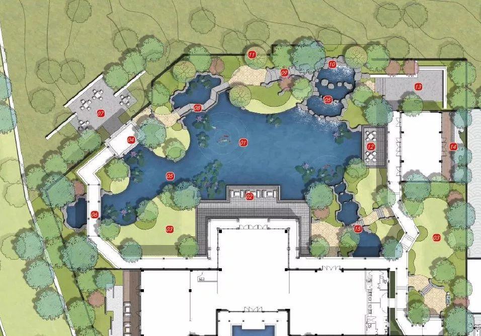 青岛融创阿朵小镇示范区建筑设计/大象设计