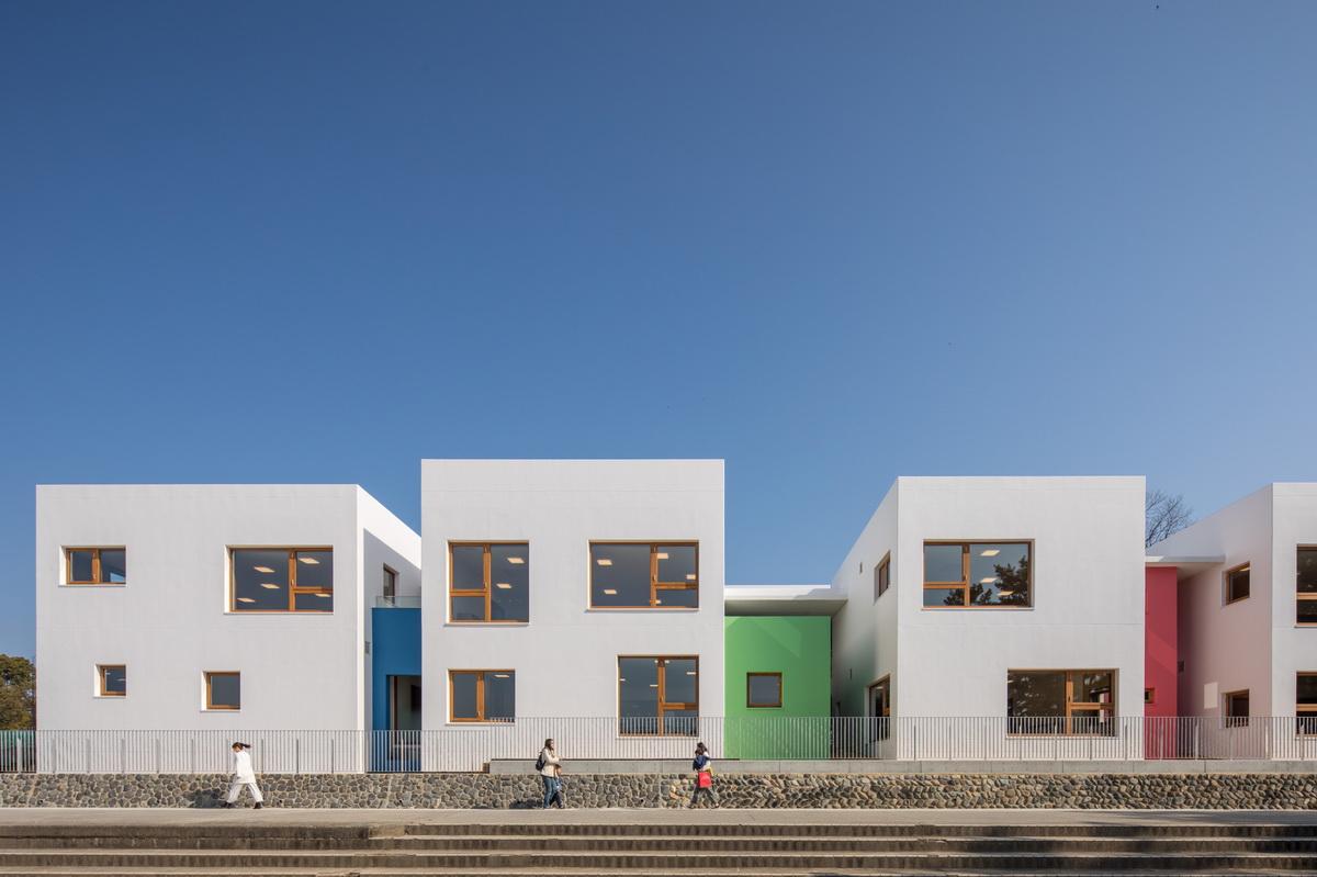 日本·加古川幼儿园建筑设计/Takenaka Corporation 竹中工务店