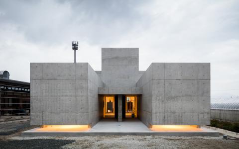宁静的家—日本混凝土独立住宅建筑letou国际米兰下载/FORM/Kouichi Kimura Architects