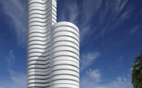 西班牙kouros公寓大楼建筑letou国际米兰下载/Fran Silvestre Arquitectos