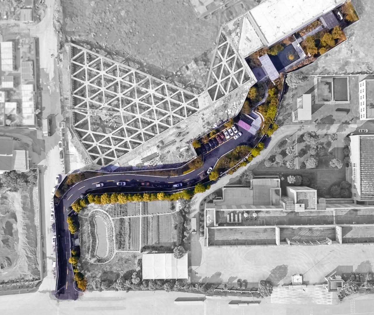 温州龙湖华董春江天玺展示区景观设计/安道设计
