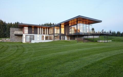 多伦多Stouffville独立住宅建筑letou国际米兰下载/Trevor McIvor Architect