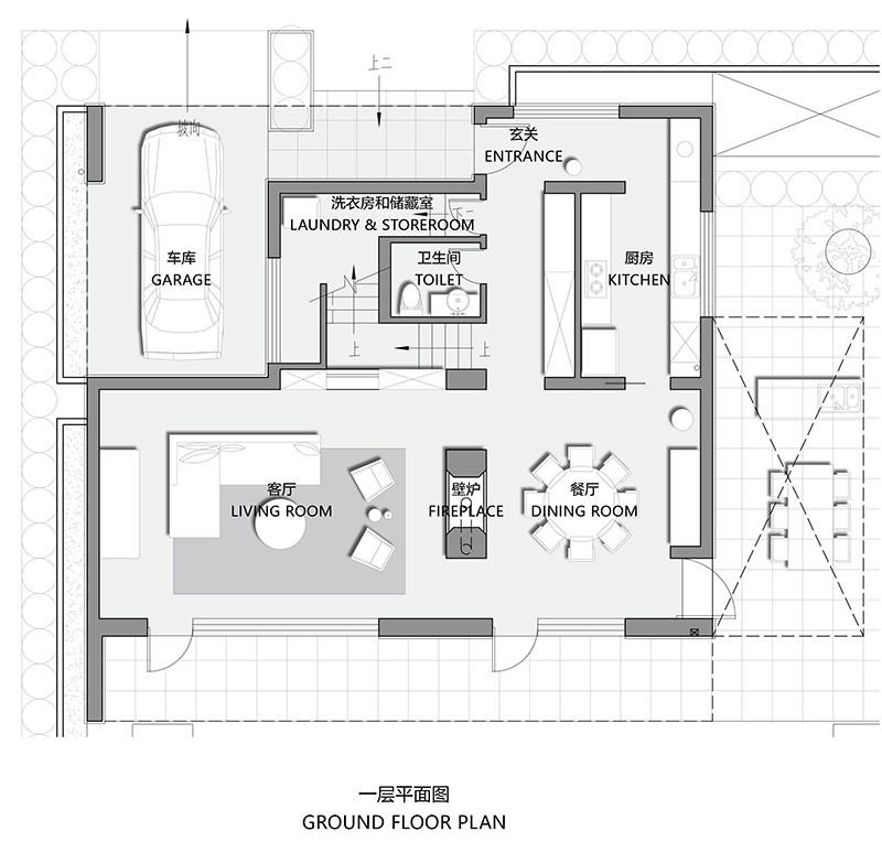 浙江宁波私人独立别墅设计/陆启水建筑设计事务所
