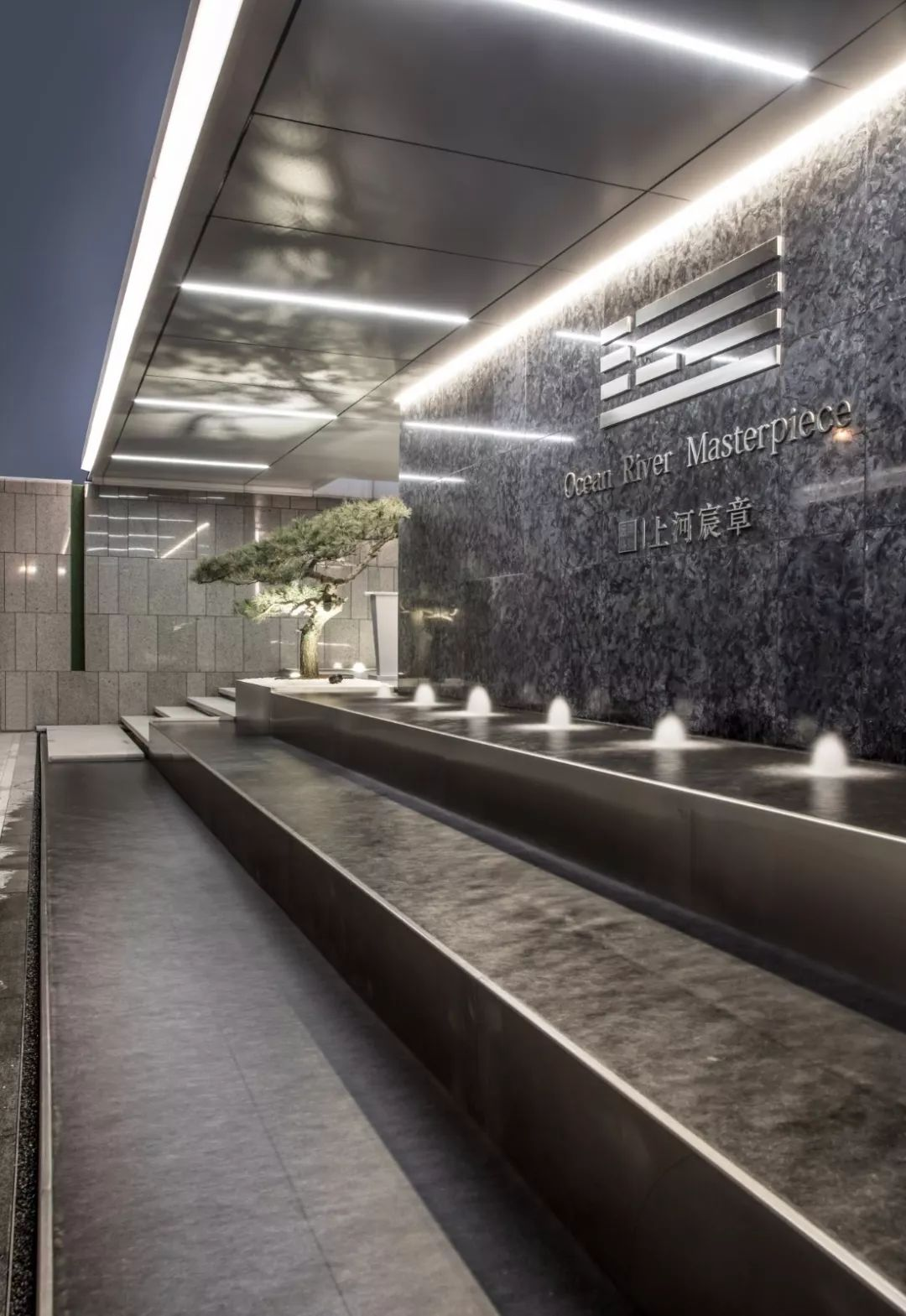 杭州远洋路劲上河宸章景观设计/伍道国际