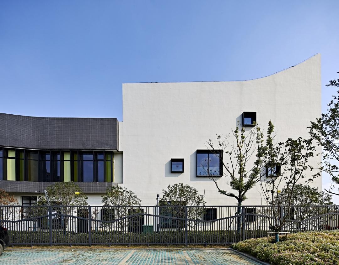 苏州科技城第三幼儿园建筑设计/BAU