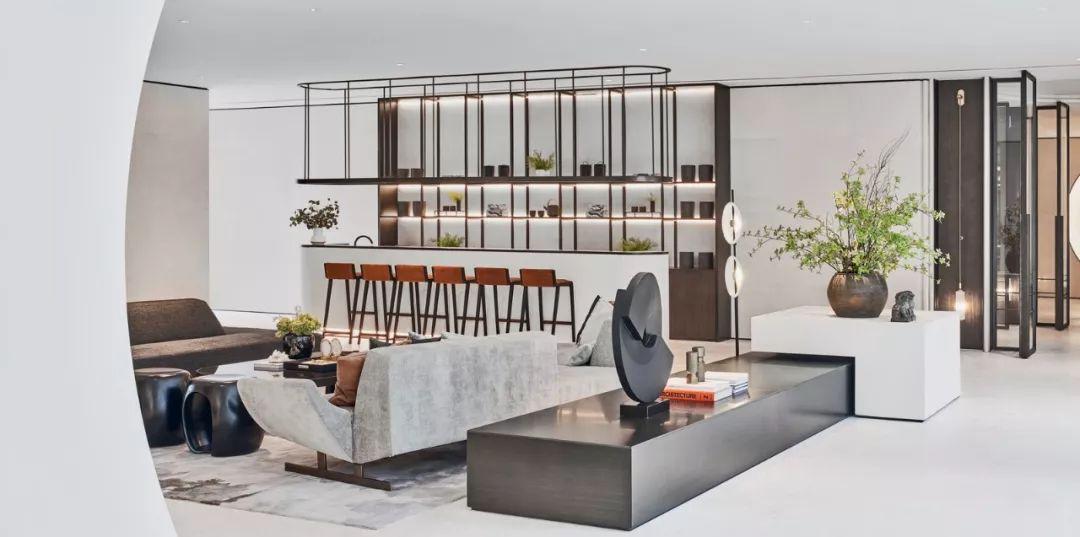 杭州保利澄品售楼处室内设计/Wdesign无间设计