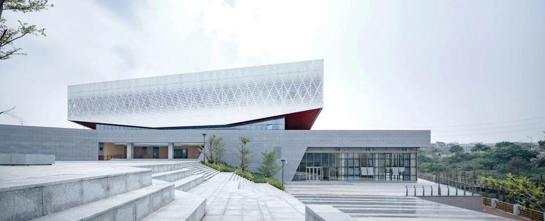 广州暨南大学南校区体育馆建筑设计/GDAD广东设计院