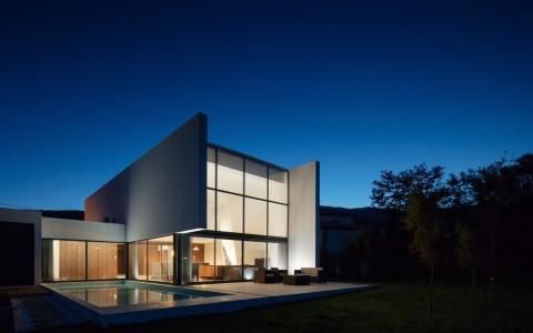 葡萄牙独立住宅Gafarim之家建筑letou国际米兰下载/Tiago do Vale Arquitectos
