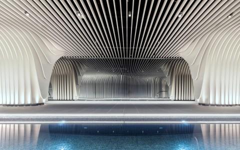 悉尼拱形高层公寓建筑letou国际米兰下载/Koichi Takada高田浩一建筑事务所