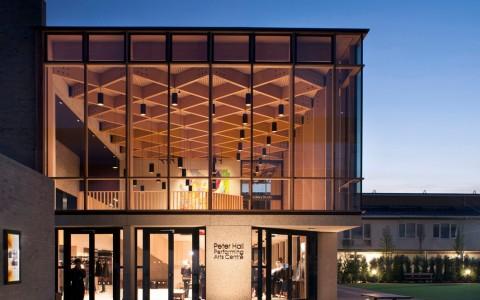 英国剑桥perse学院表演艺术中心建筑letou国际米兰下载/Haworth Tompkins