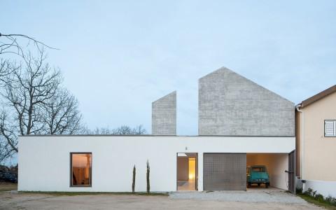 葡萄牙独立住宅建筑letou国际米兰下载/DRK.Architects