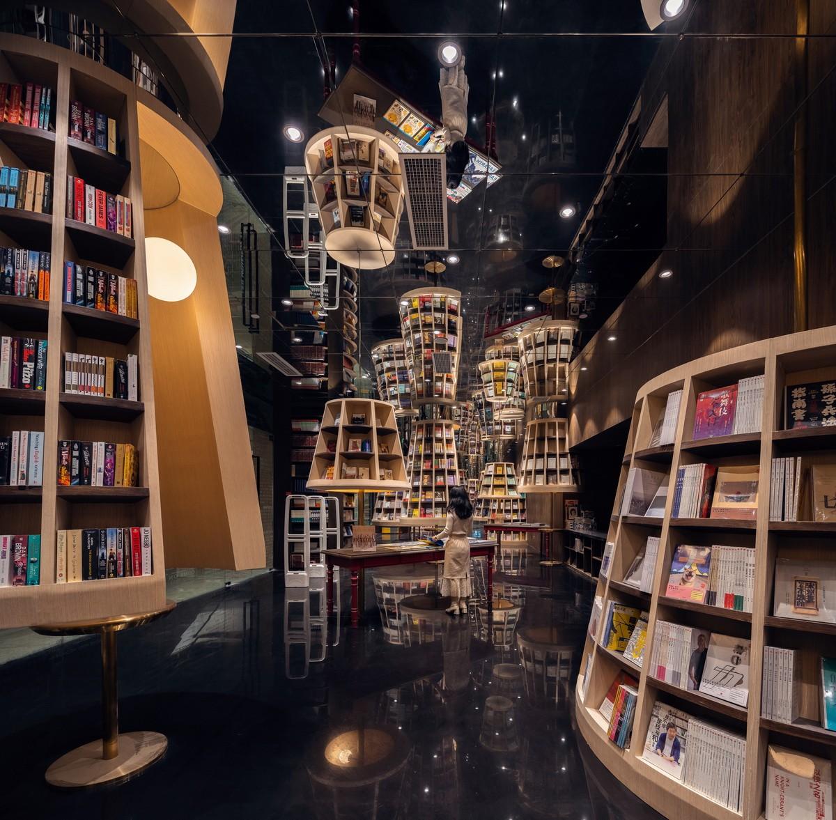 重庆钟书阁书店室内设计/唯想国际