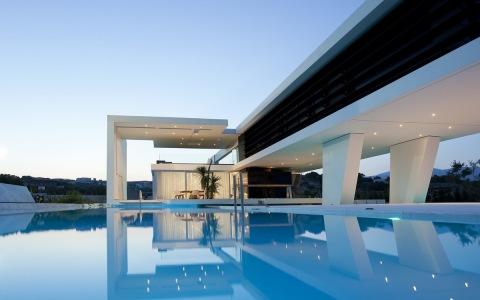 希腊雅典极简独立住宅建筑letou国际米兰下载/314 Architecture Studio