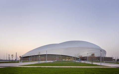 2022年世界杯主赛场—卡塔尔Al Janoub体育场建筑letou国际米兰下载/Zaha Hadid Architects